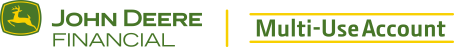 John Deere Financial Multi-Use Account
